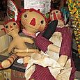 Vintage Raggedy Ann dolls