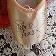 Lucie's autographed pointe shoe