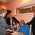 Signing vinyl albums