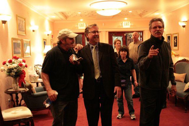 Desi, Steve & Tom