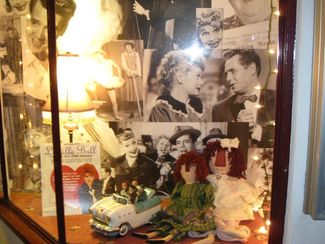 Window display at our Theatre