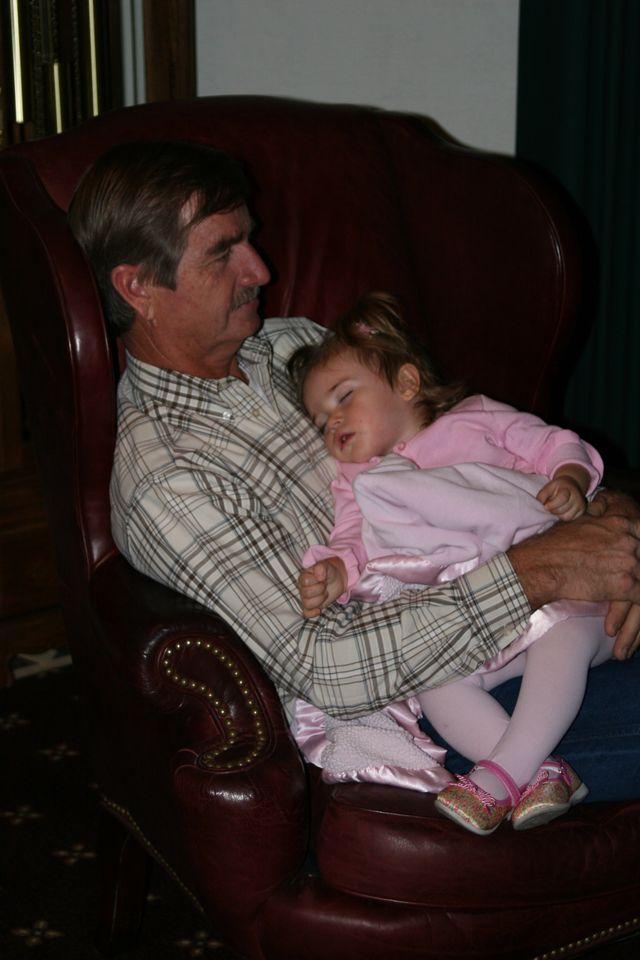 Sleeping baby (Desi's cousins)