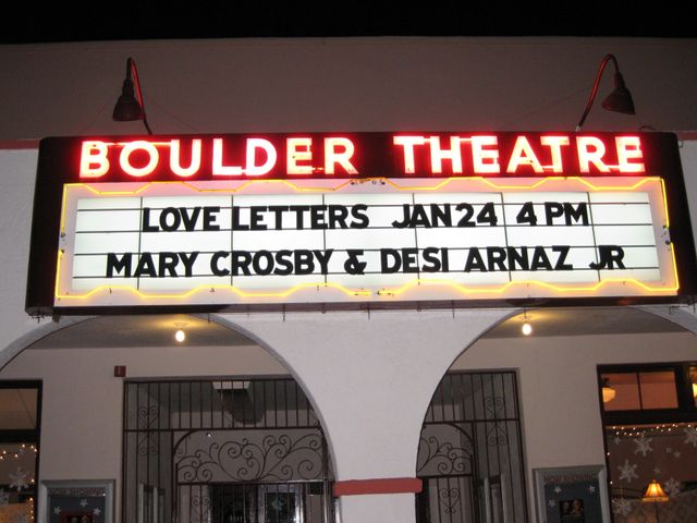 Love Letters Marquee
