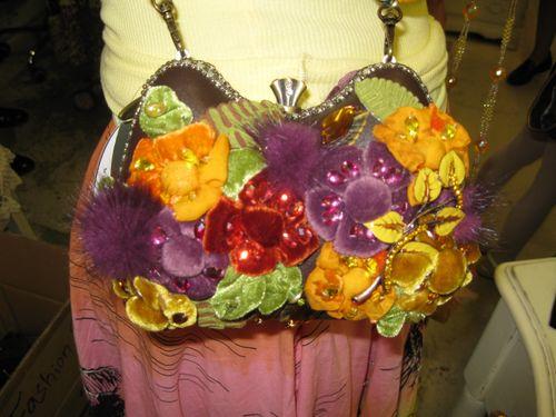 Jeanine's new purse