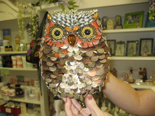 An Owl Purse