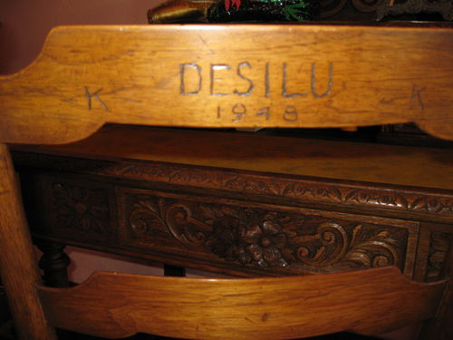 Original chair from Desilu Studios
