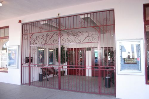 Entrance to our theatre